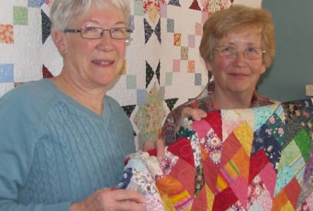 Cornwall Quilters Guild enjoying a first: its very own show