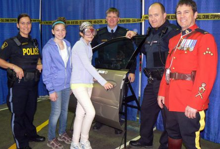 Racing Against Drugs spreads its message at armouries