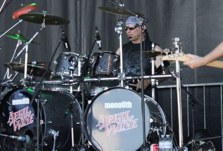 Cornwall drummer stands atop national music scene