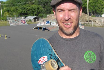 Pushing for change on a skateboard