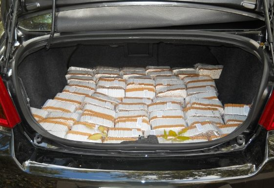 CRTF seize contraband tobacco, vehicle in Summerstown