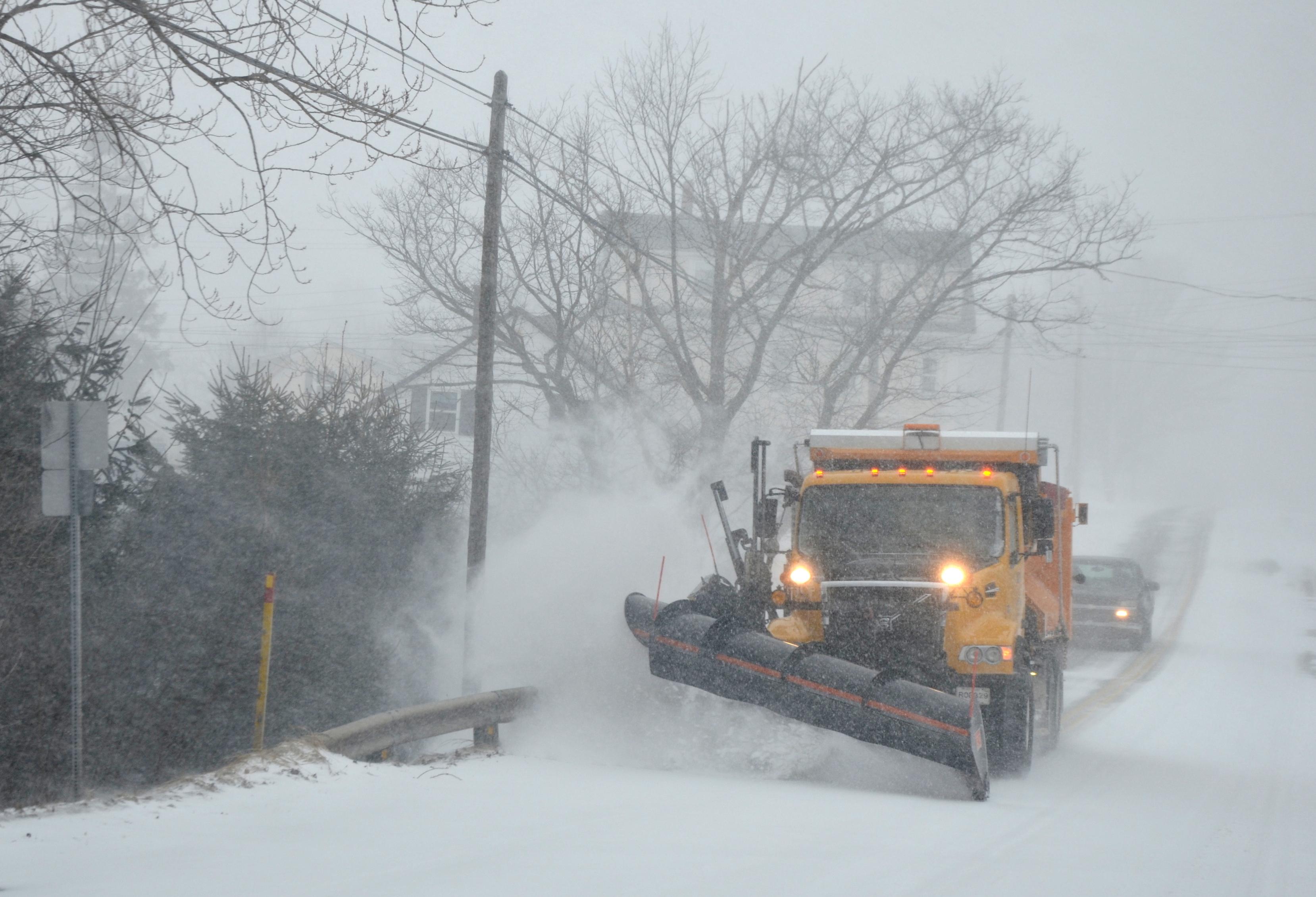 Heavy snowfall expected Tuesday