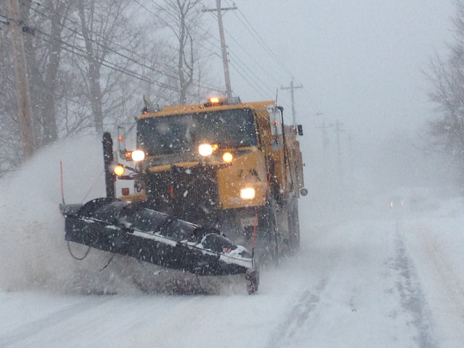 Significant snowfall expected Monday night