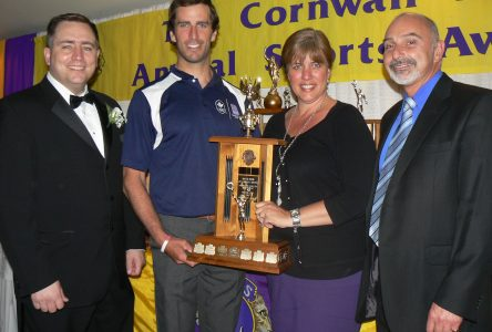 Sporting personalities strut their stuff at awards banquet