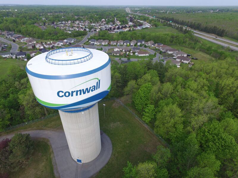 Cornwall water system receives perfect score
