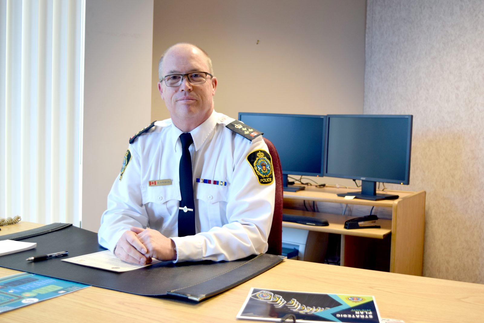 Wellness and community partnerships a focus for new Chief