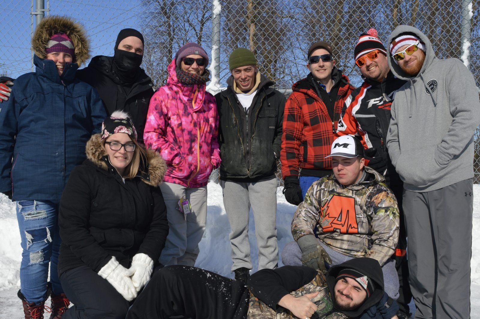 Snowy Slo-Pitch for Autism