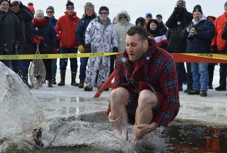 Making a splash at seventh annual Polar Dip