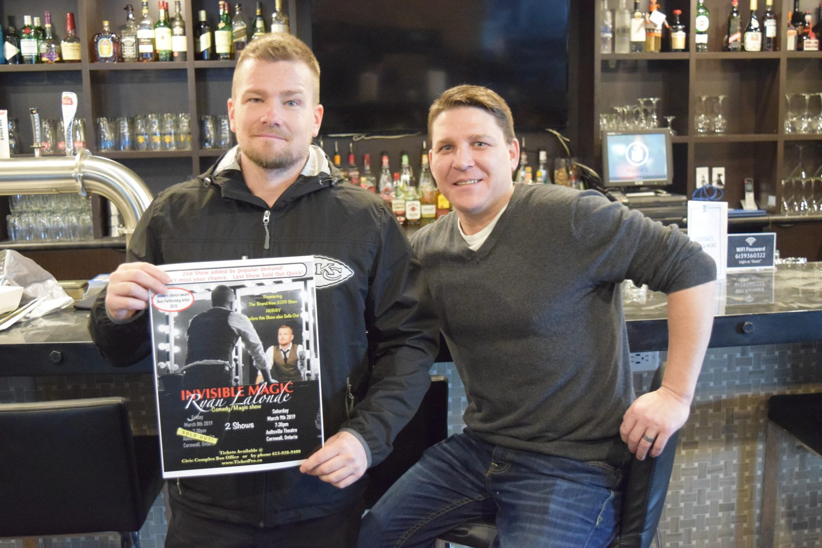 Local businesses support local entertainment