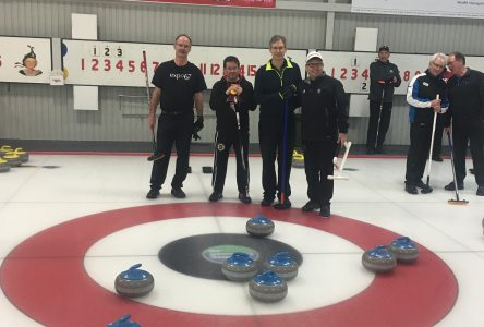 Eight ender thrown at Cornwall Curling Centre
