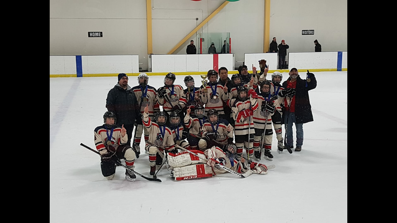 Peewee C2 Cornwall Colts take gold