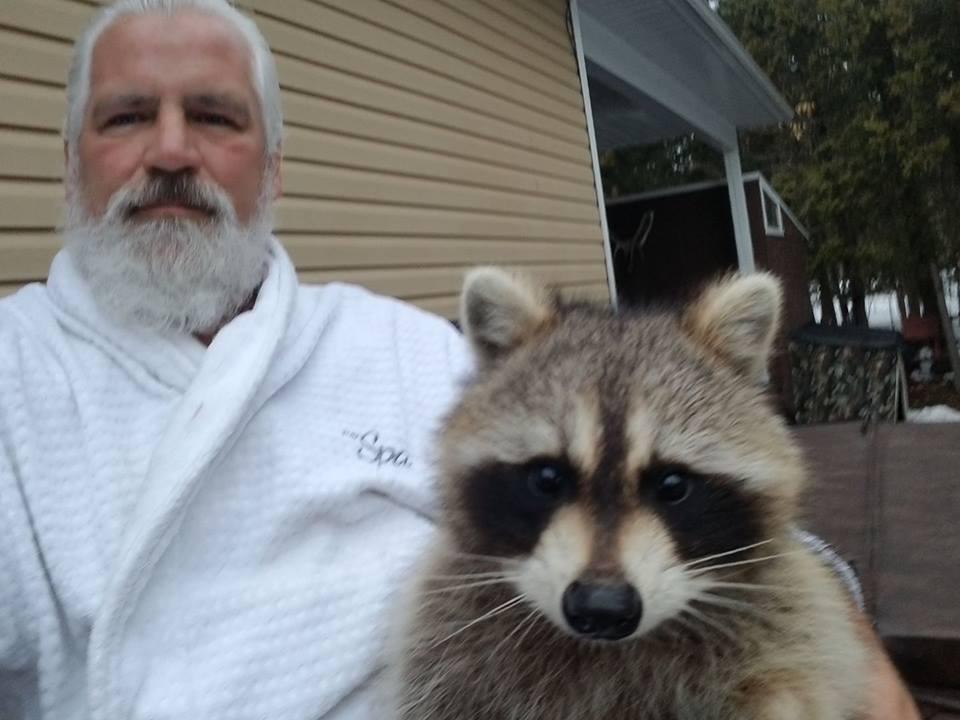 Ron the Raccoon Whisperer