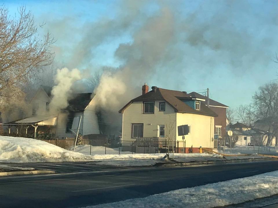 Five displaced in two weekend fires