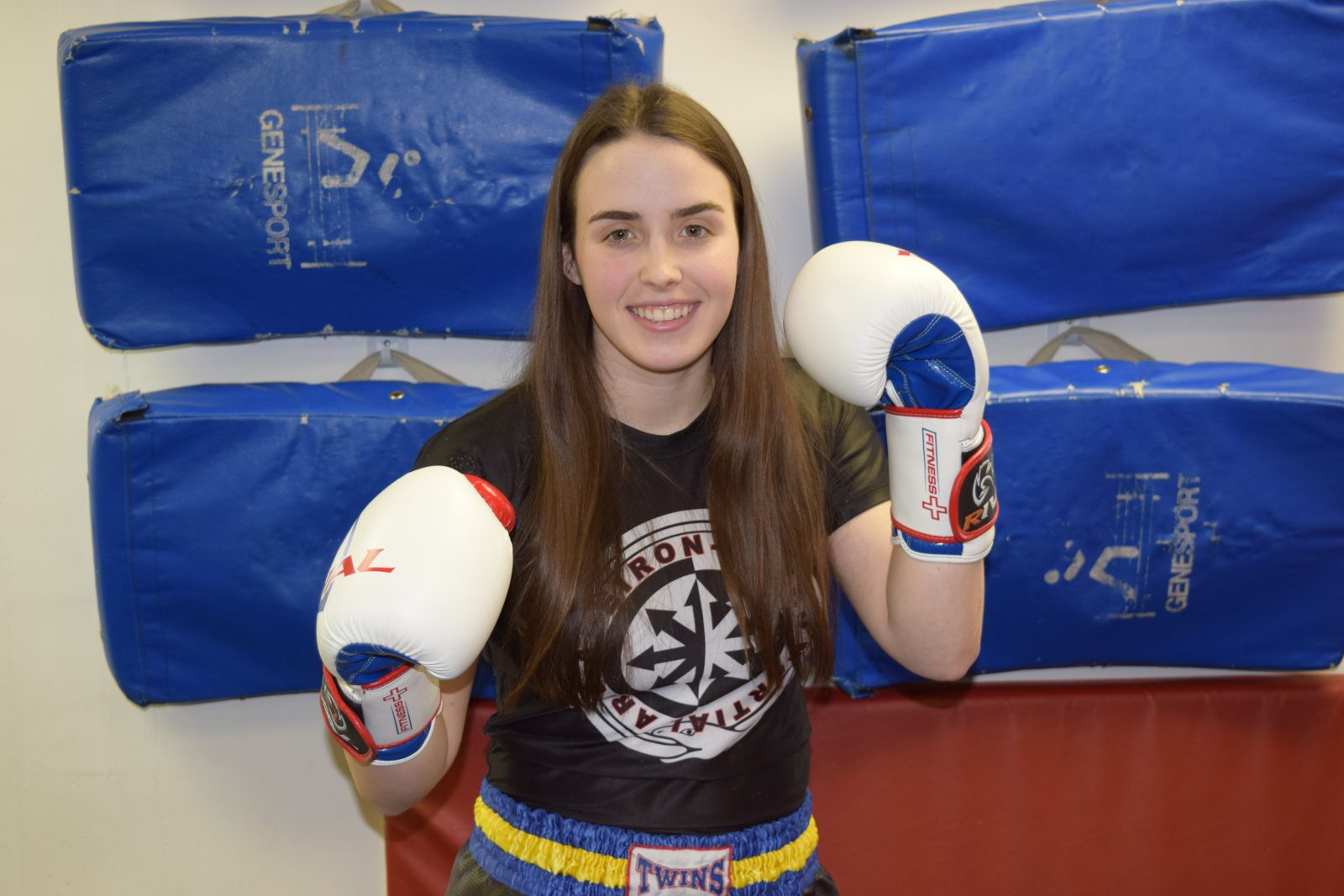 Local kickboxing champion claims national title