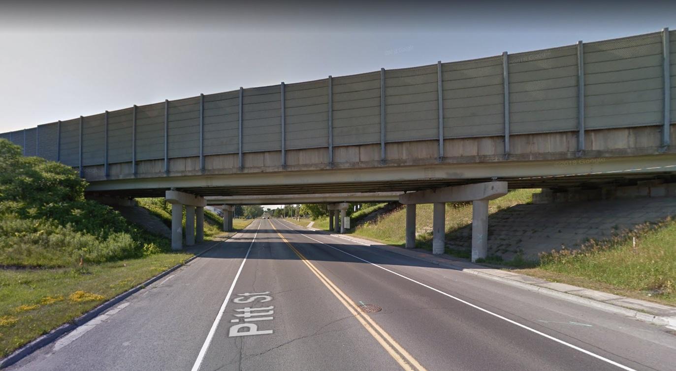 Pitt St. bridge construction resumes Monday