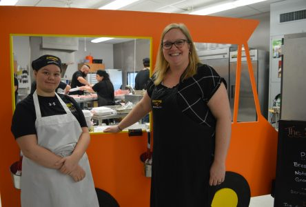 Student food truck fundraising frenzy
