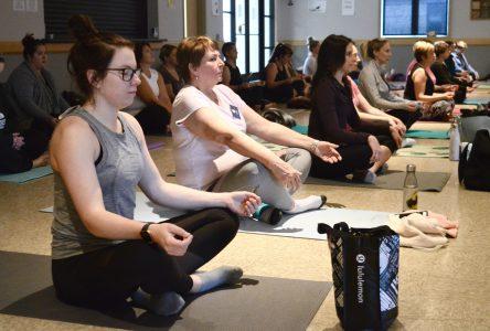 Raise and Reach Yoga strives for a cure