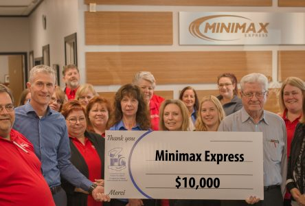 Minimax donates $10K to CCHF