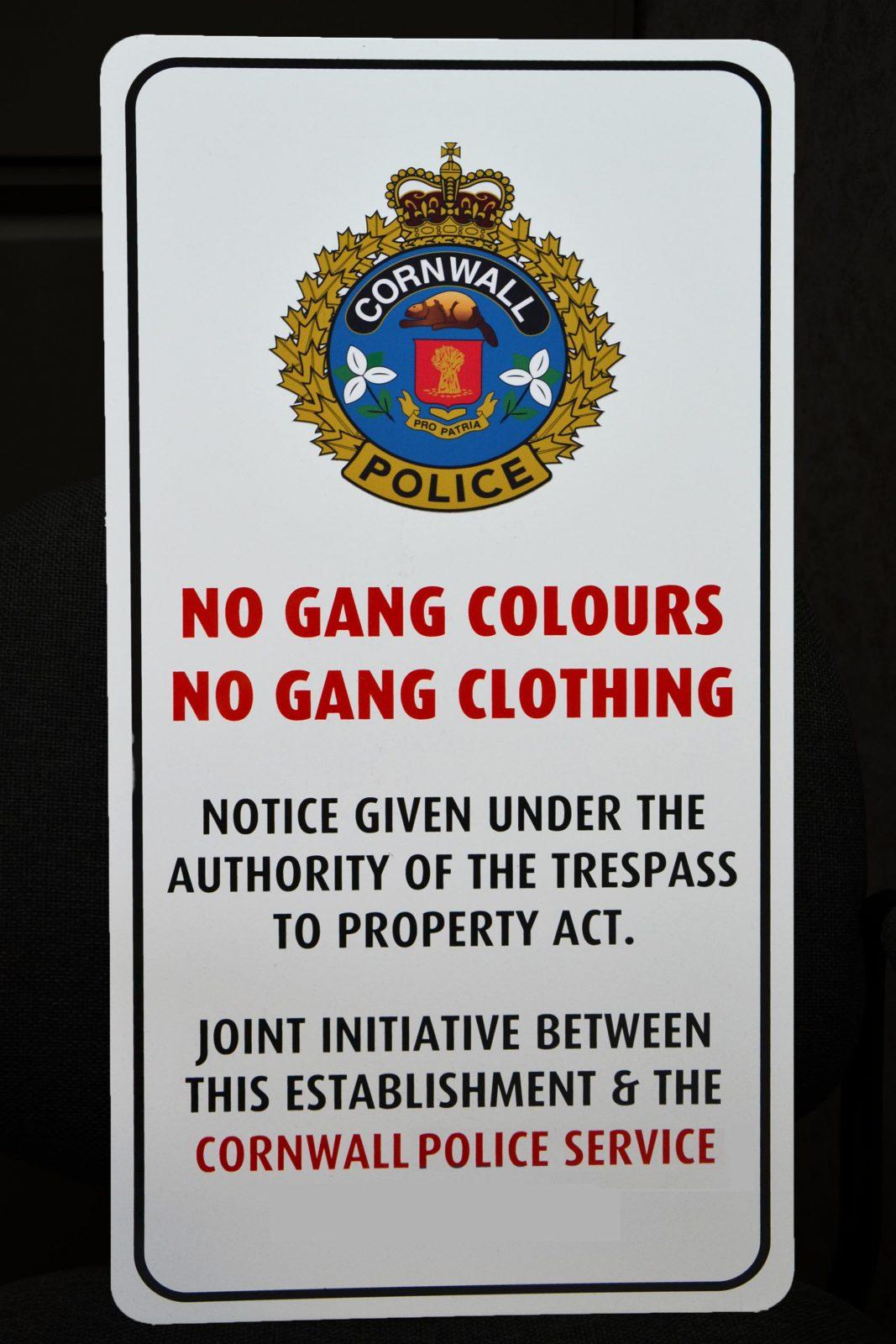 CPS launches No Gang Colours, No Gang Clothing program