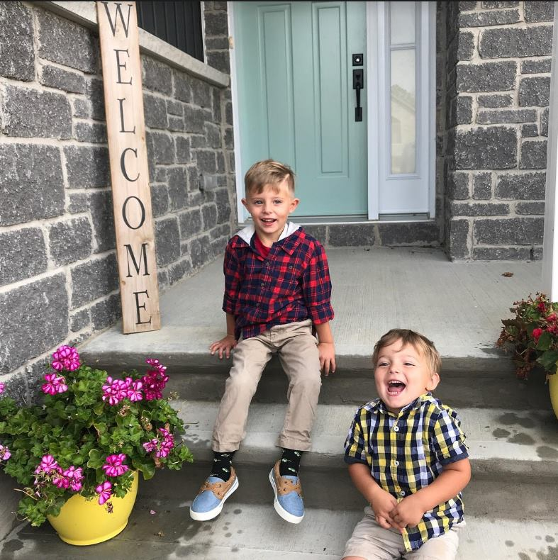 Rachel's Kids deliver small moment of joy for young brothers