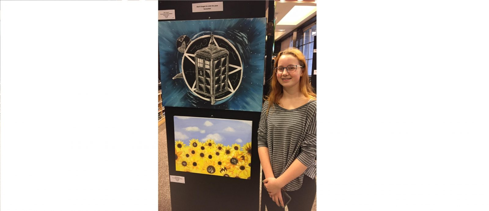CCVS students hold art show