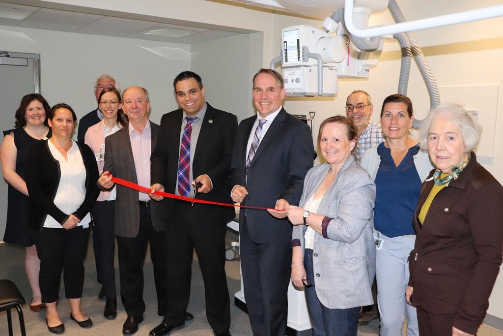 L'Hôpital Glengarry Memorial Hospital installe un nouvel appareil de radiographie