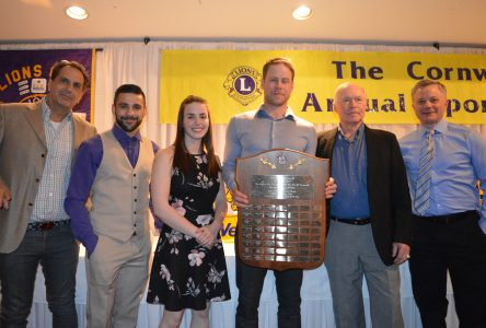 Jesse Winchester wins Lions Club top sports personality award