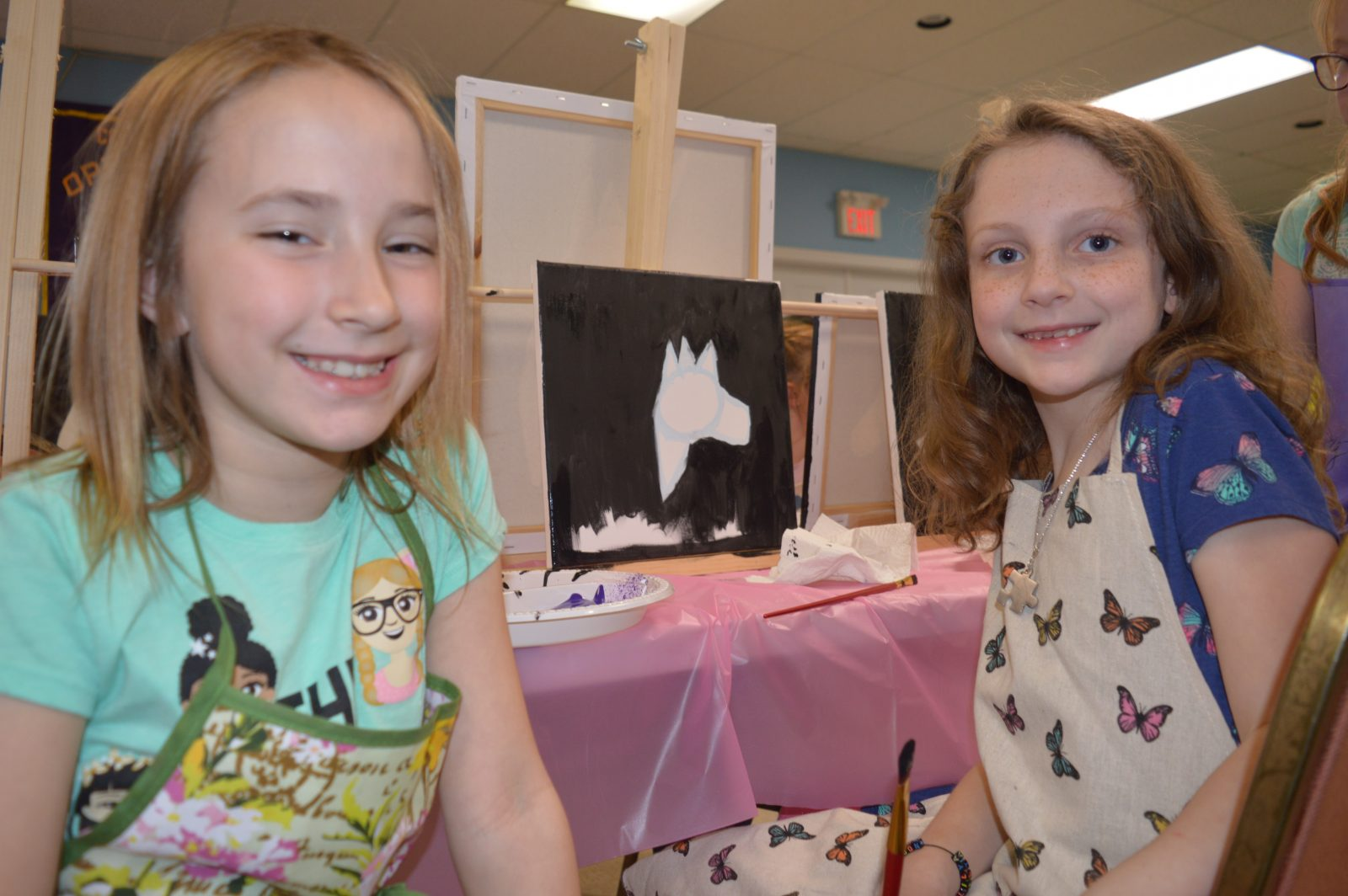 Mommy and Me Paint Night remembers Lily
