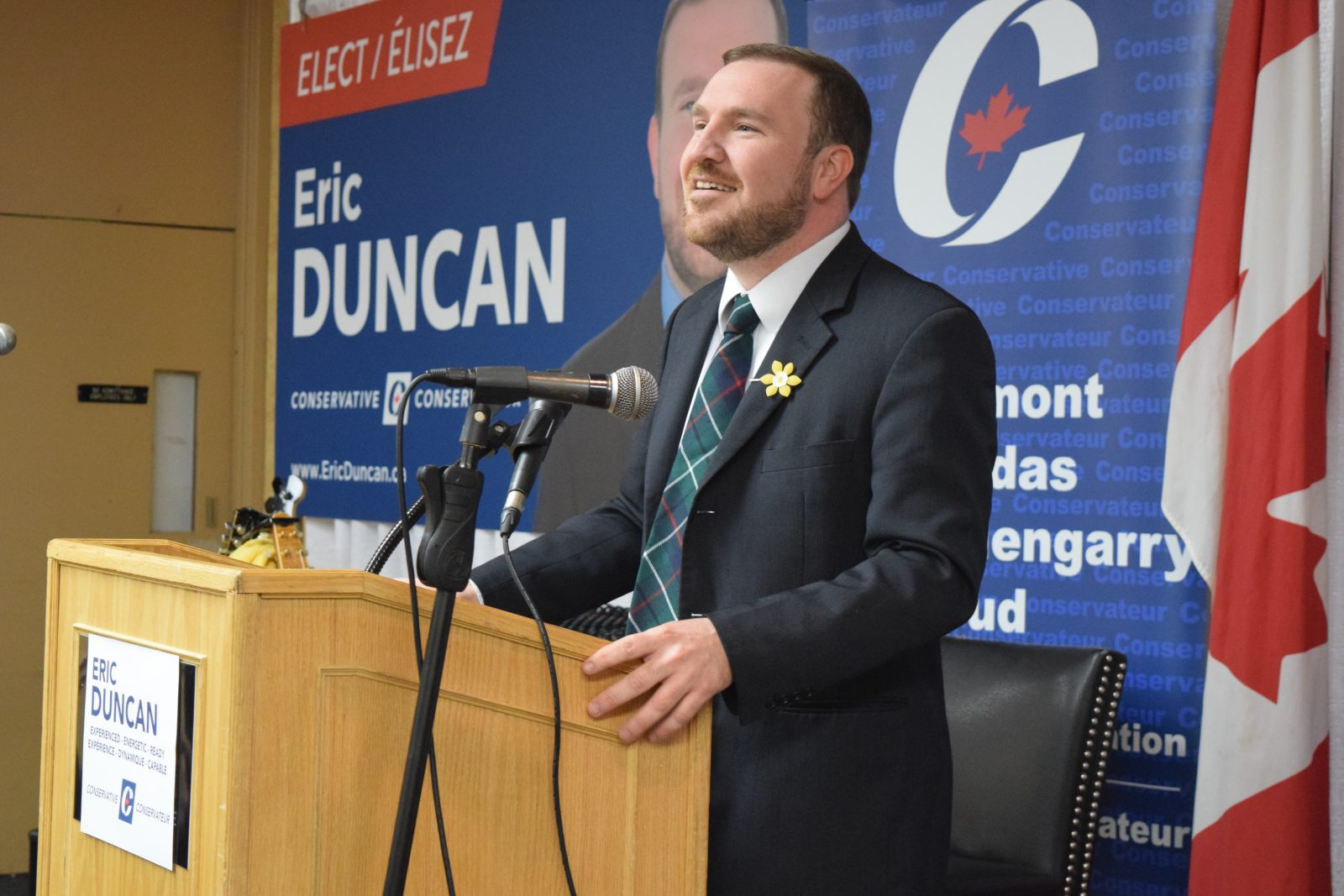 Duncan re-nominated as CPC candidate for next election