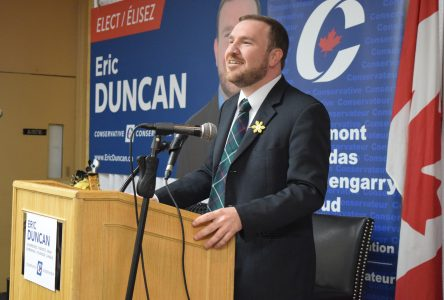 A minute with MP Eric Duncan