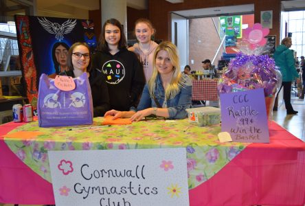 Craft sale raises funds for Cornwall Gymnastics Club
