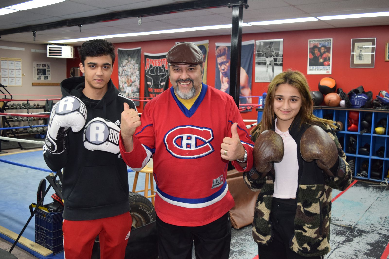 Waheed's come home with hardware from boxing nationals