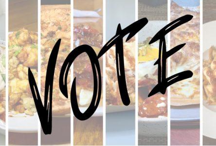 VOTE for your favourite poutine!