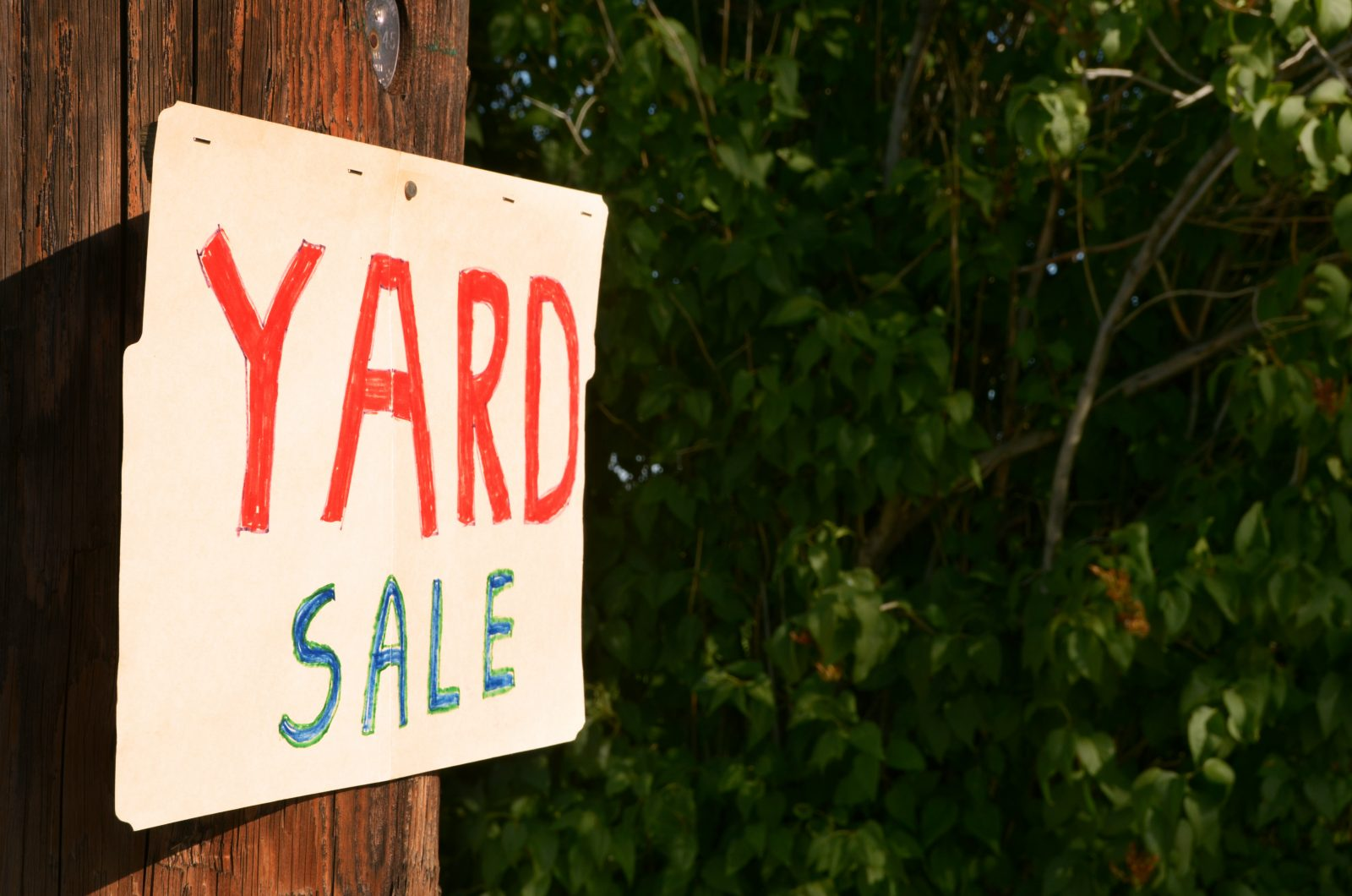 What you need to know about yard sales