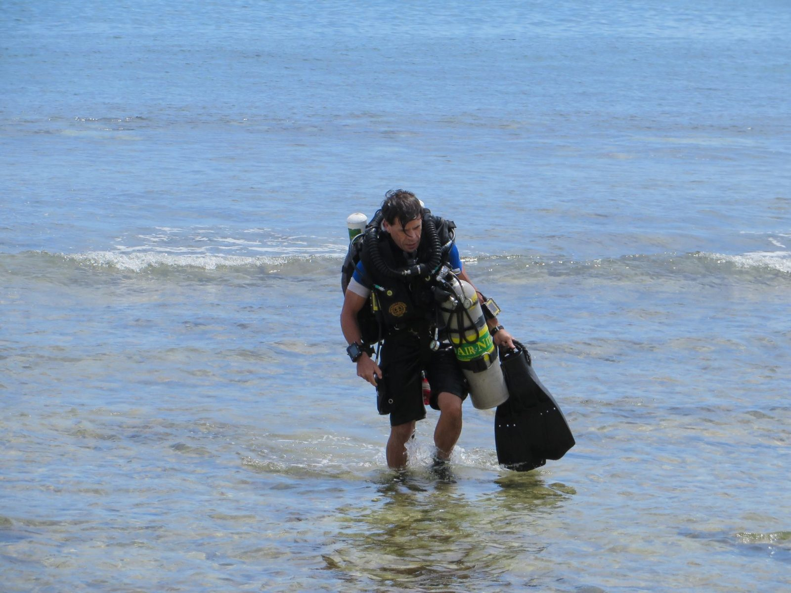 Missing diver identified