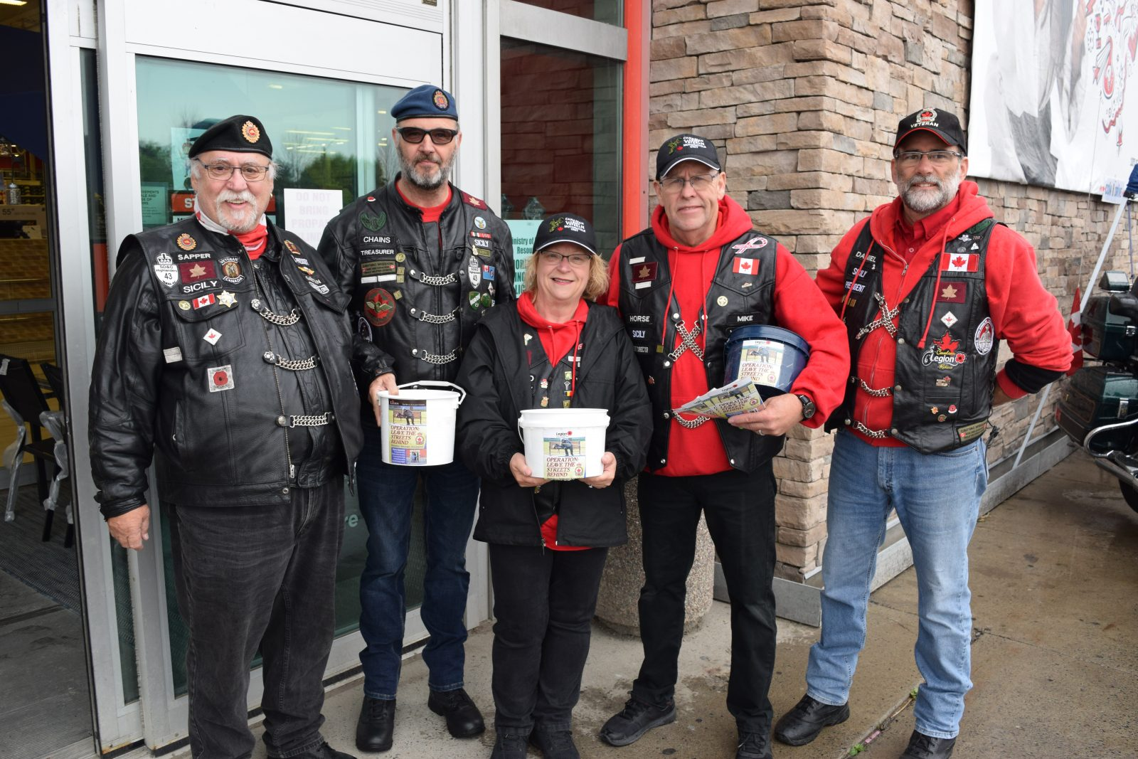 Coin drive supports Legion