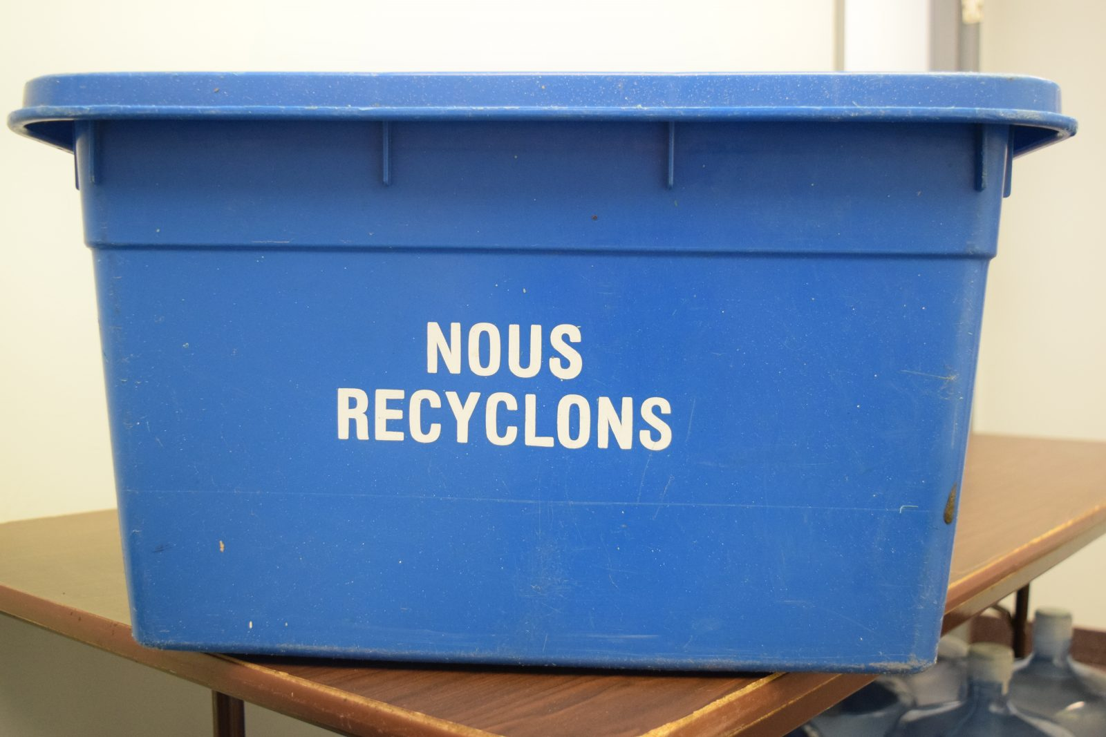 City institutes street recycling pilot program