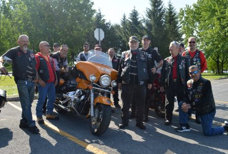 Local Riders carry Special Olympics Torch
