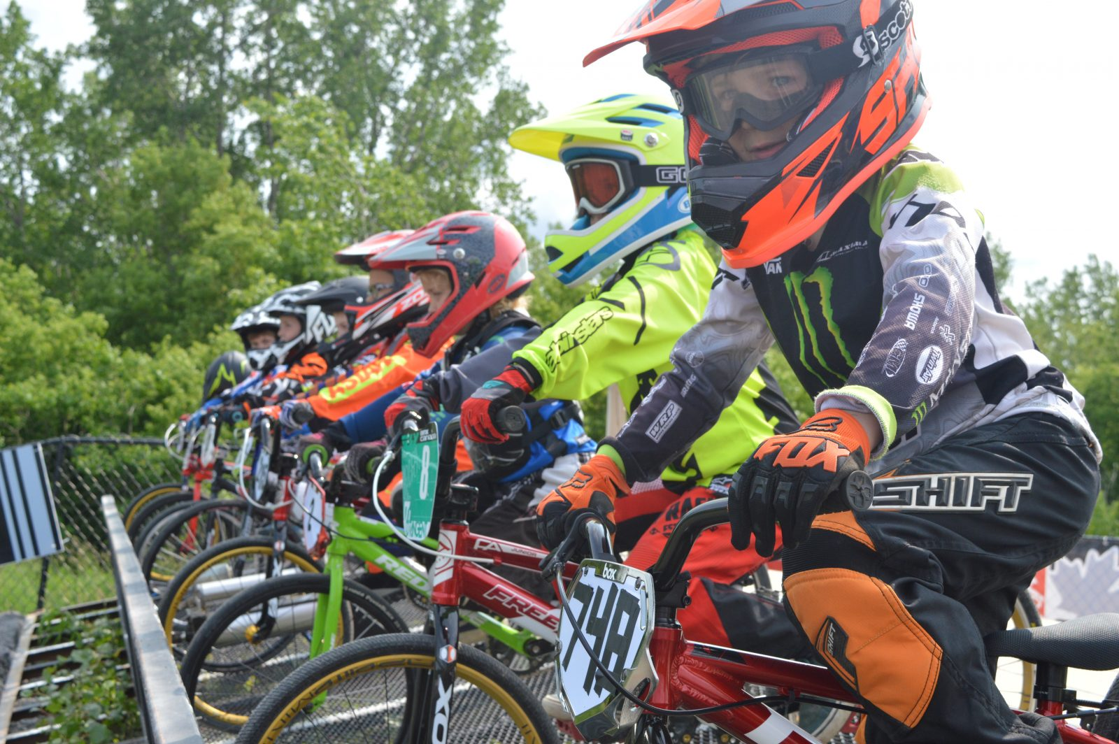 Cornwall BMX sees 500 rider weekend