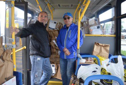 Agapè Centre Stuff the Bus, Murder Mystery raises over $8k