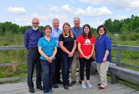 Wetland in South Glengarry restored