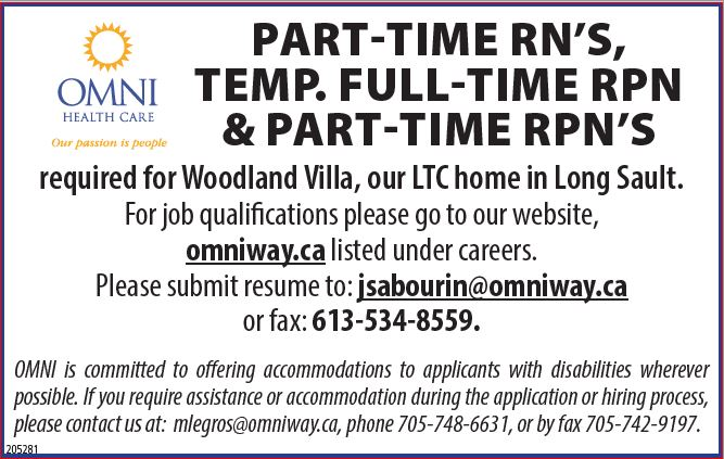 Part-Time RN's, Part-Time & Temp Full-Time RPN