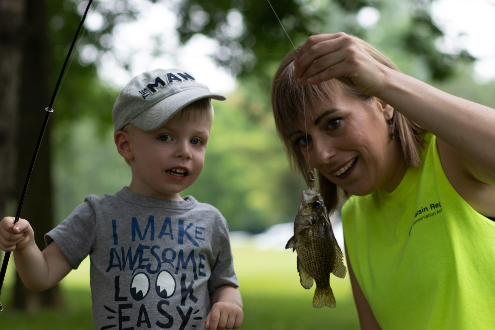 Families make a splash at Family Fishing Day