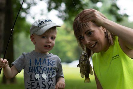 Families make a splash at Family Fishing Day