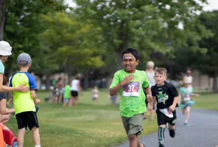 Athletes take their mark at Cornwall Multisport Club's Kids Day