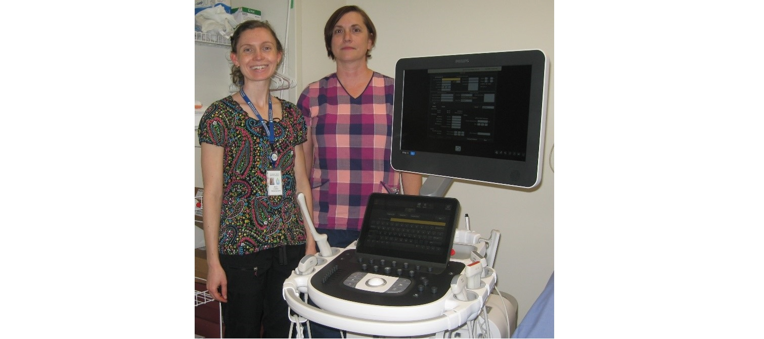 New Ultrasound machines at WDMH