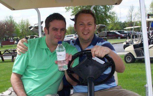Golfers Against Cystic Fibrosis remember Marc Belanger