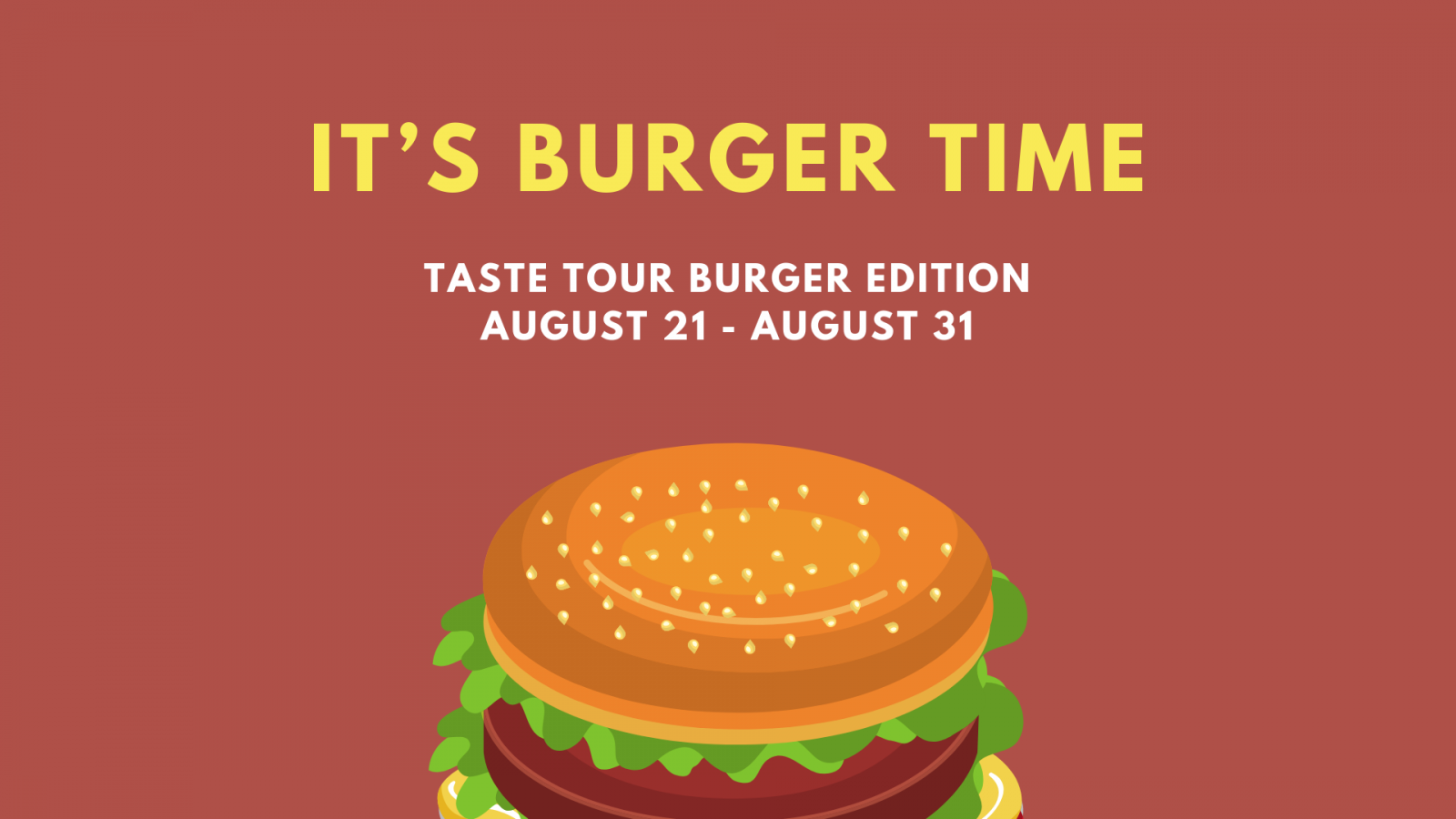 Get ready to feast on BURGERS!