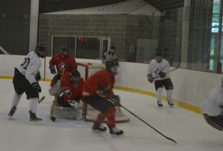 World Junior A selection camp at Benson Centre