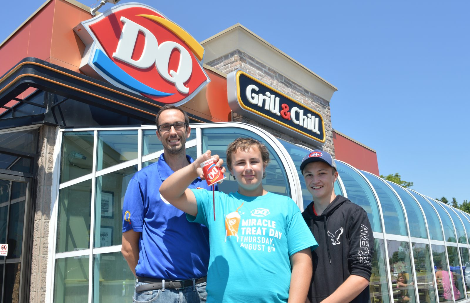 Supporting children's miracles, one blizzard at a time
